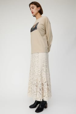 LACE LONG skirt
