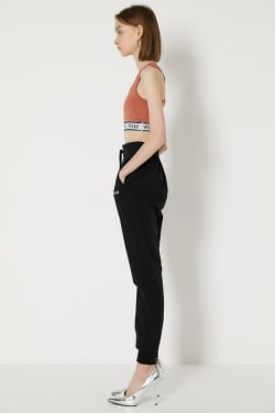SW STRETCH CLOTH slim pants
