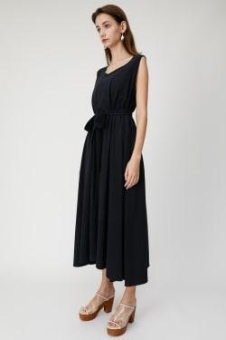 CUT FLARE LONG Dress