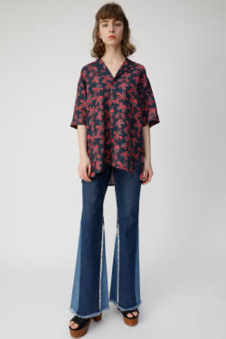 VACAY FLOWER OPEN shirt