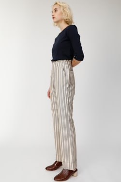 STRIPE HIGH WAIST Pants