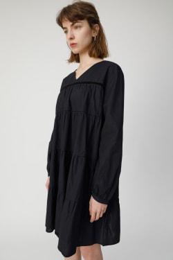 TIERED FLARE MINI Dress