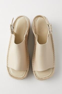 JUTE SOLE BACK STRAP Sandals