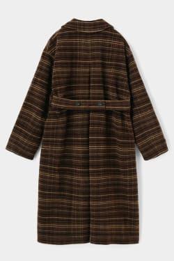 A LINE WOOL long coat
