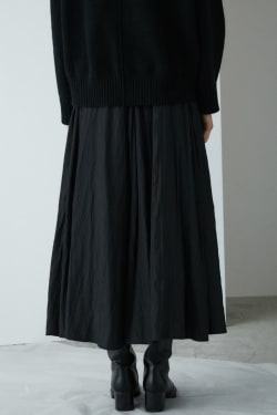 ASYMMETRY WRAP skirt