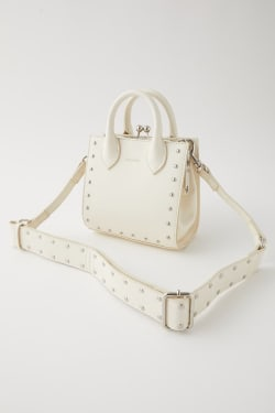 STUDS CLASP SHOULDER bag