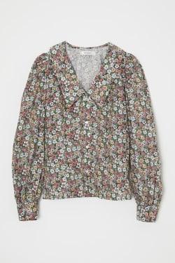 TINY FLOWER blouse