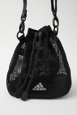 ADIDAS X MOUSSY DOUBLE MESH SHOULDER BAG