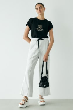 ADIDAS X MOUSSY DOUBLE WIDE PANTS
