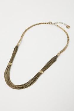 FRINGE CHAIN necklace