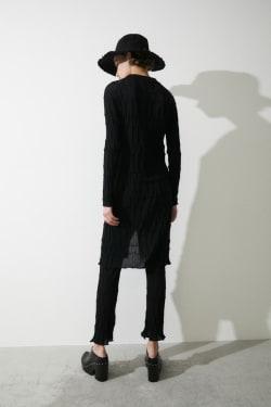 RANDOM RIB knit shirt