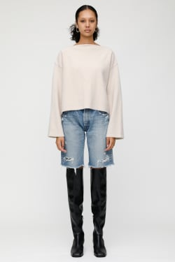 MV BOATNECK KNIT TOP