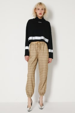 SW High Neck CROPPED pullover