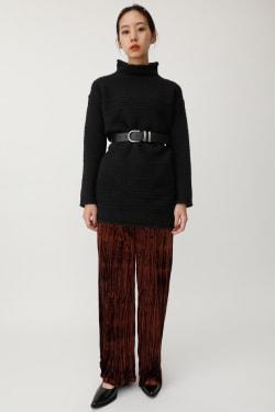 RANDOM GARTER knit dress