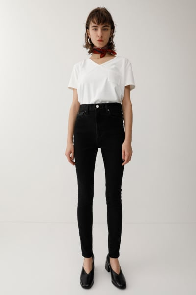 HIGH WAISTED REBIRTH LIGHT BLACK Skinny Jeans