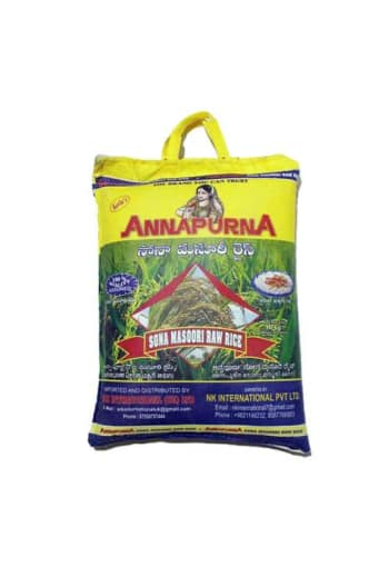 Annapurna Sona Masoori Raw Rice