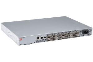 Brocade 300 24x SFP+ Port (24 Active) Switch w/ 24x 8Gb GBICs - BR-360-0008