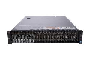 "Dell PowerEdge R730xd 1x24 2.5"", 2 x E5-2670 v3 2.3GHz Twelve-Core, 32GB, 8 x 1.92TB SSD SAS, PERC H730, iDRAC8 Enterprise"