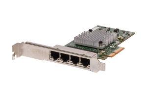 HP NC365T 1Gb Quad Port Full Height Network Card - 593743-001 - Ref