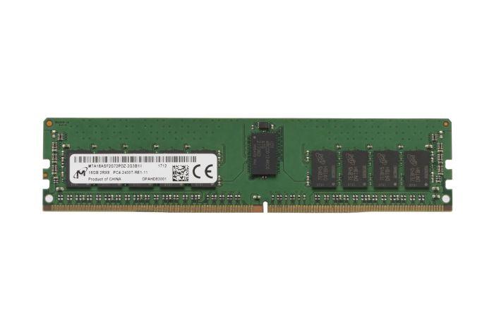 Micron 16GB PC4-2400T-R 2Rx8 ECC MTA18ASF2G72PDZ-2G3 Ref