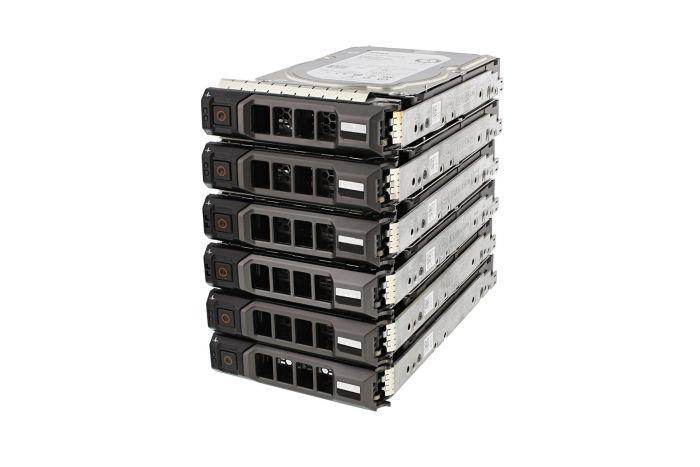 "Dell 8TB SAS 7.2k 3.5"" 12G 4Kn Hard Drives **6 Pack**"