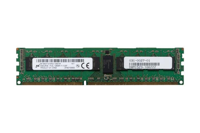Micron 8GB PC3L-12800R 2Rx8 ECC MT18KSF1G72PDZ-1G6E1HF Ref