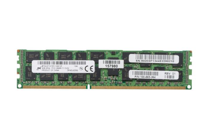 Micron 8GB PC3-12800R 2Rx4 ECC MT36JSF1G72PZ-1G6K1HF Ref