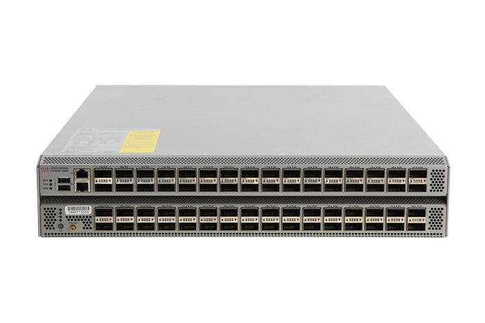 Cisco Nexus N3K-C3164Q-40GE Switch LAN Enterprise License, Port-Side Air Intake