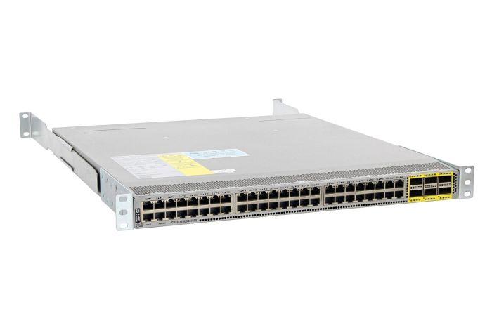 Cisco Nexus N3K-C3172PQ-10GT Switch LAN Base License, Port-Side Air Exhaust