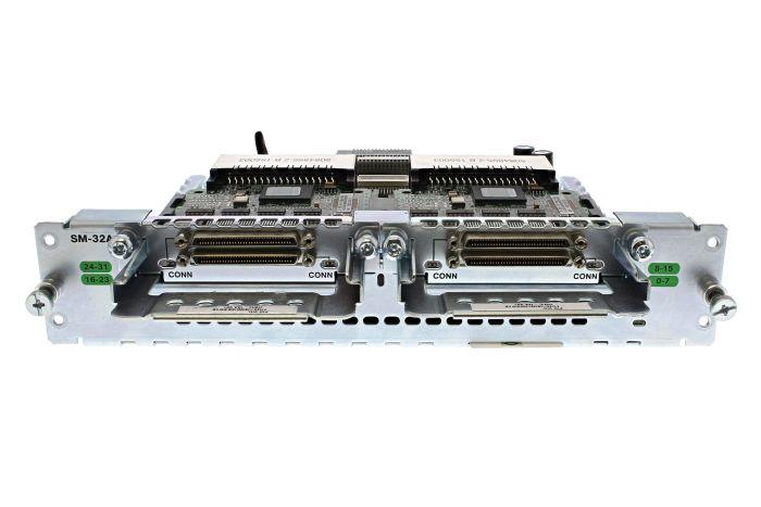 Cisco SM-32A Asynchronous Serial Module w/ 2 x HWIC-16A