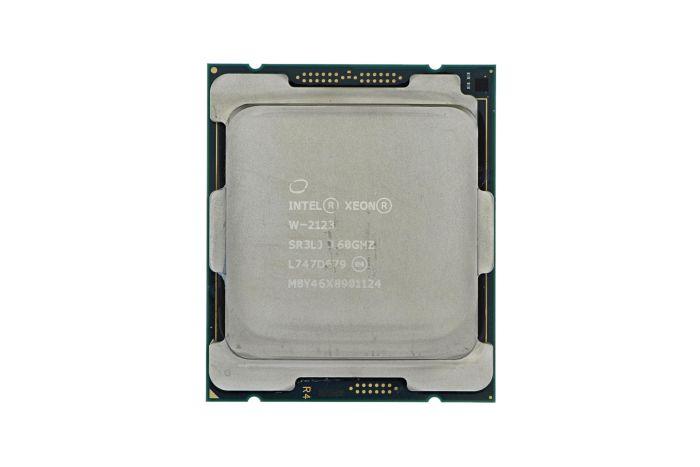 Intel Xeon W-2123 3.60GHz Quad-Core CPU SR3LJ