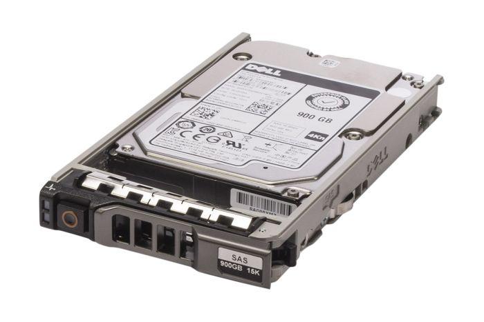 """Dell 900GB SAS 15k 2.5"""" 12G 4Kn Hard Drive 49RCK - New Pull"""
