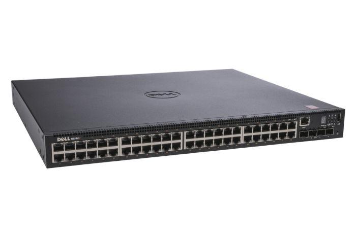 Dell Networking N1548P PoE+ 48x 1Gb RJ45 + 4x SFP+ Switch - NOB