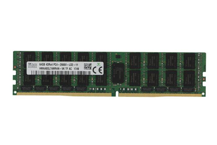 Hynix 64GB PC4-2666 LR 4Rx4 ECC HMAA8GL7AMR4N-VK