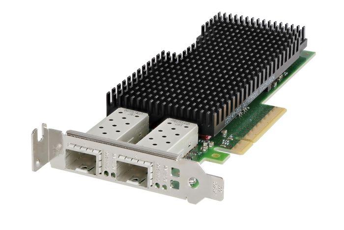Dell Intel XXV710-DA2 25Gb SFP28 Dual Port Low Profile Network Card - 00M95 - Ref