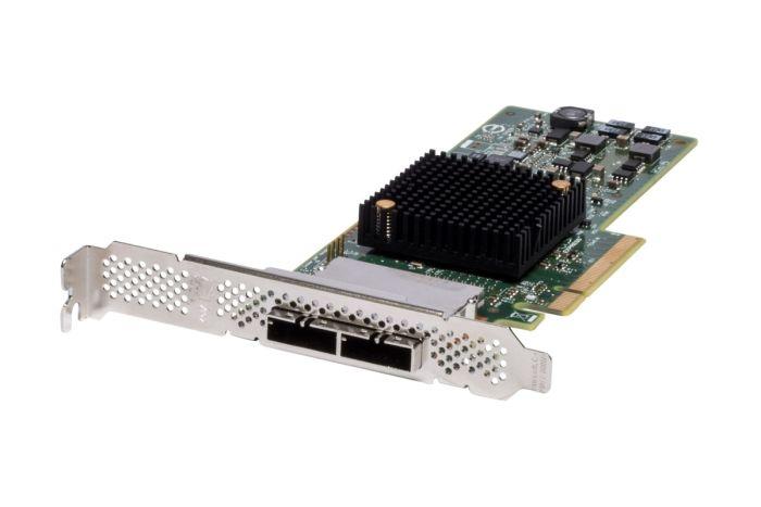 Dell LSI SAS 9207-8e 6Gbps Full Height HBA FD0CG - New