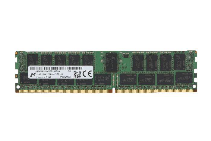 Micron 32GB PC4-2400T-R 2Rx4 ECC MTA36ASF4G72PZ-2G3