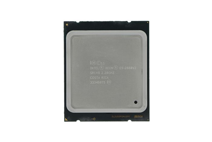 Intel Xeon E5-2660 v2 2.20GHz 10-Core CPU SR1AB