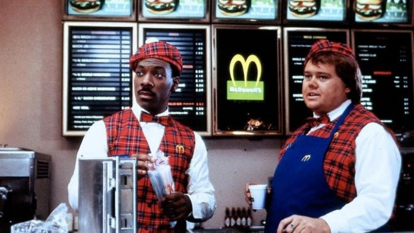 Eddie Murphy and Louie Pinette McDowell Restaurant Coming to America.