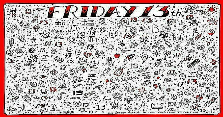 Friday The 13 Tattoos