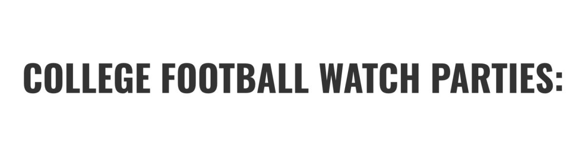 Football Watch Parties In Austin