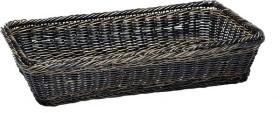 Leipäkori pinottava tummanruskea GN 1/1 K 10 cm