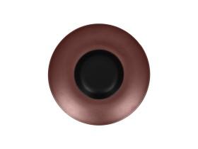 Gourmet-lautanen musta/pronssi Ø 26 cm
