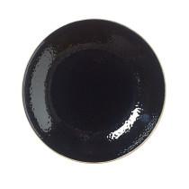 Lautanen syvä musta Ø 25,5 cm