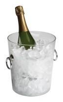 Viininjäähdytin kirkas Ø 20 cm