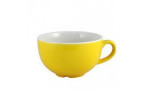 Kahvikuppi keltainen 34 cl