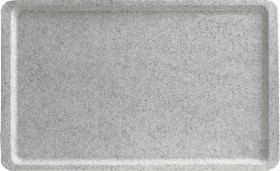 Tarjotin GN 1/1 leveä reuna light grey