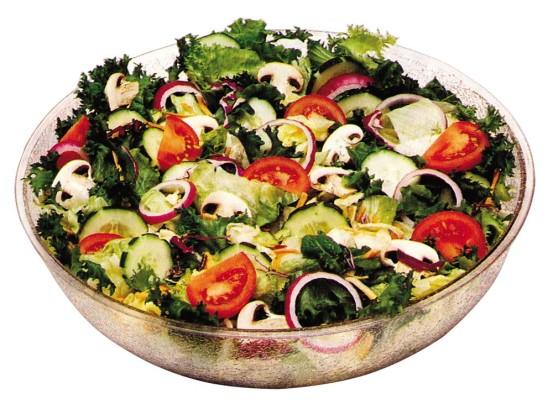Salaattikulho kirkas 1,7 L