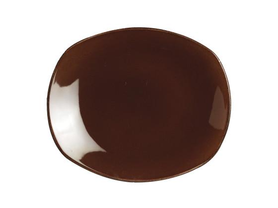 Lautanen tummanruskea Ø 25,5 cm