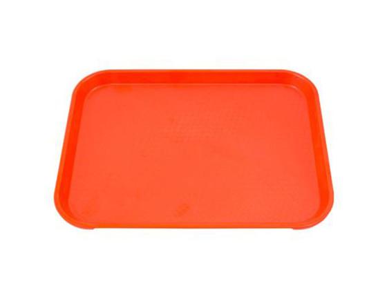 Tarjotin Fast food oranssi 26,5x34,5 cm